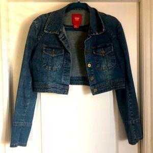Cropped Demin Jacket